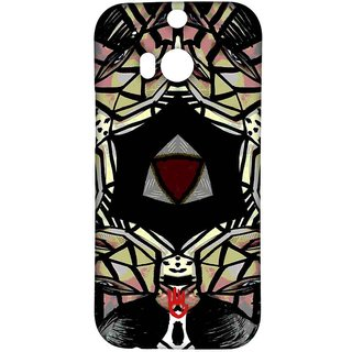 KR Red Kaleido - Sublime Case For HTC One M8