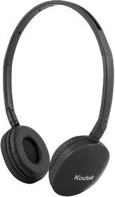 Kodak Premium Black Folding Headphones