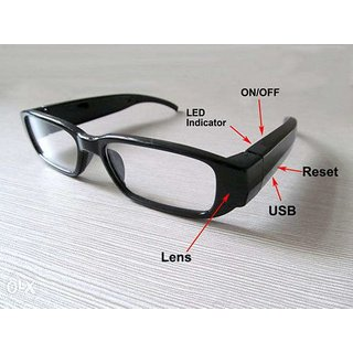 Onsgroup HD DVR 720P Glasses Spy Hidden Camera , Video Recorder Camcorder