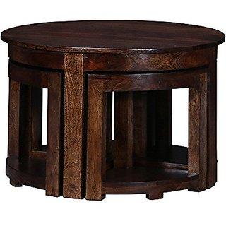Altavista Perk Coffee Table With Stool