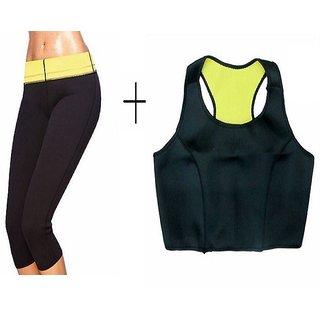 13434690f64 IBS Hot Shapers Neotex Body Shaper Tummy Wonder Slimm N Lift Trimmer Thiggh  Knee Slimming Pants Bra Exercise Wear