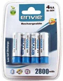 Envie AA 2800 mAh Rechargeable Ni MH Battery