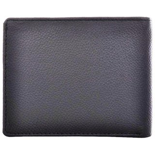 Tahiro Black Leather Wallet - Pack Of 1