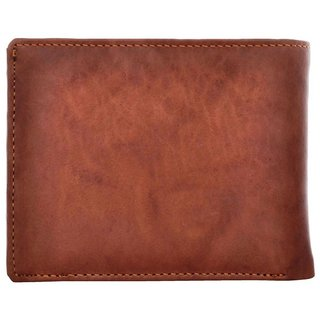 Tahiro Brown Leather Wallet   Pack Of 1