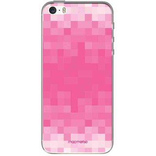 Pixelated Pink - Jello Case For IPhone SE