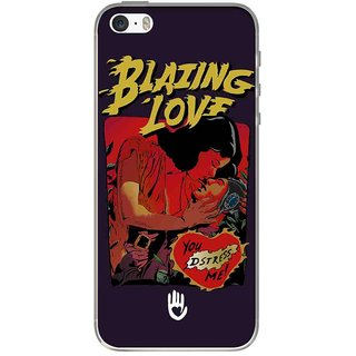 KR Blazing Love Purple - Jello Case For IPhone SE