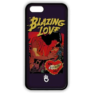 KR Blazing Love Purple - Lite Case For IPhone SE