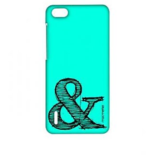 AND Teal - Sublime Case For Huawei Honor 6