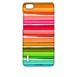 Colourful Brush Strokes - Sublime Case For Huawei Honor 6