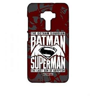 Gotham Vs Krypton Red - Sublime Case For Asus Zenfone 3 ZE552KL