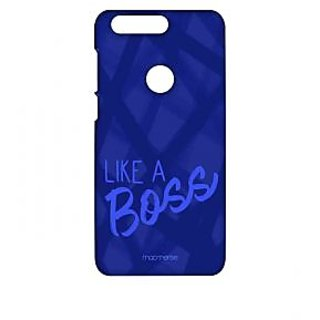 Like A Boss Blue - Sublime Case For Huawei Honor 8