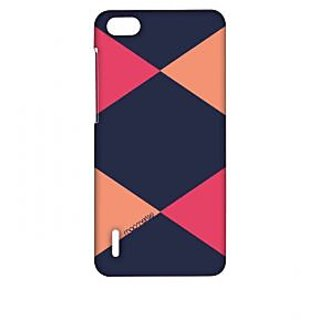 Criss Cross Blupink - Sublime Case For Huawei Honor 6