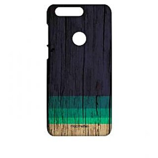 Wood Stripes Blue - Sublime Case For Huawei Honor 8