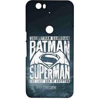 Gotham Vs Krypton Blue - Sublime Case For Huawei Nexus 6P