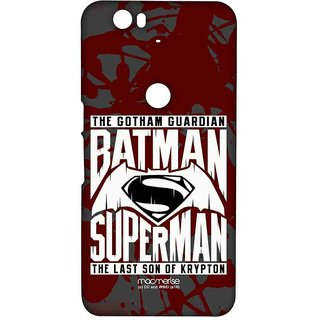Gotham Vs Krypton Red - Sublime Case For Huawei Nexus 6P