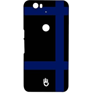 KR Blue Checks - Sublime Case For Huawei Nexus 6P