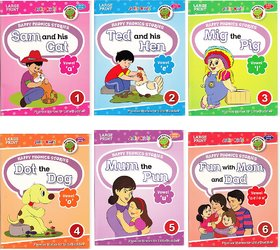 Happy Phonics Stories (Set Of 6)