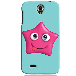 Snooky Digital Print Hard Back Case Cover For Lenovo A850 Td12464