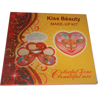 Kiss Beauty Makeup collection Eye Shadow, Blusher, Compact Powder, 9082