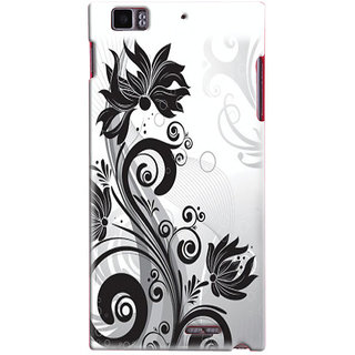 Snooky Digital Print Hard Back Case Cover For Lenovo K900 Td12497