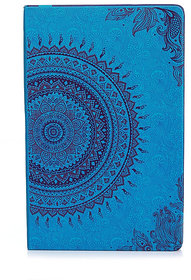 Doodle Ethnic Motif Diary Notebook, UV - Paper Finish, Hard Cover, Ruled, 200 Pages, A5 (8.5X 5.5)  (Multi-Colour)