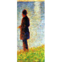 Sunday At The Grand Jatte, Study Of A Fisherman By Seurat