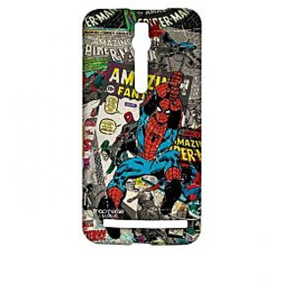 Comic Spidey - Sublime Case For Asus Zenfone 2