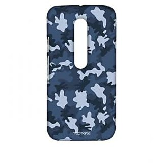 Military Blue - Sublime Case For Moto G Turbo