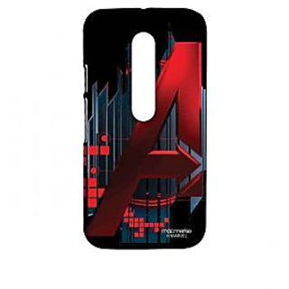Avengers Logo - Sublime Case For Moto G Turbo