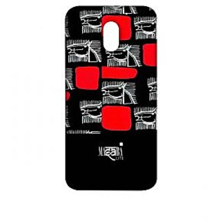 Masaba Red Line Horses - Sublime Case For Moto E3