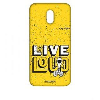 Live Loud Yellow  - Sublime Case For Moto E3