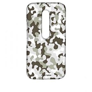 Military Grey - Sublime Case For Moto G Turbo