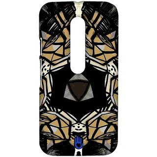KR Chrome Kaleido - Sublime Case For Moto G Turbo