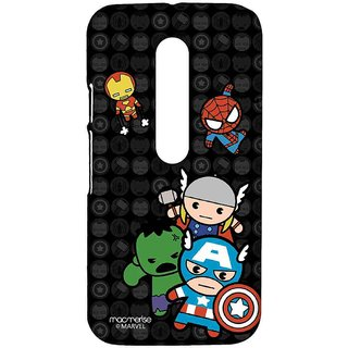 Kawaii Art Marvel Comics - Sublime Case For Moto G Turbo