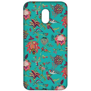 Payal Singhal Chidiya Teal - Sublime Case For Moto E3