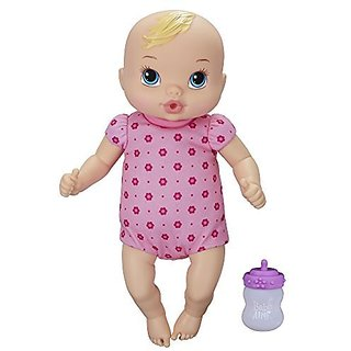 Hasbro Baby Alive Luv N Snuggle Baby Doll Blond
