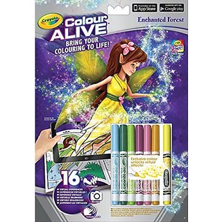 Crayola-Colour Alive Enchanted Forest Colouring Set