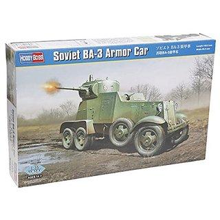 Hobby Boss Soviet Ba 3 Armor Car Model Kit