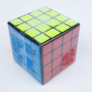 MoYu mini AoSu 4x4 Black Base Speed Cube Puzzle