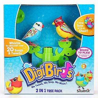 DigiBirds Tree Stand Fammi and Bright