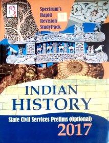 Indian History 2007 State Civil Service Prelims  (English, Paperback, Kalpana Rajaram)