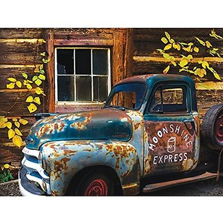 Moonshine Express A 500 Piece Jigsaw Puzzle By Sunsout Inc.