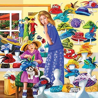 Suns Out Rosies Hat Shop Jigsaw Puzzle (500 Piece)