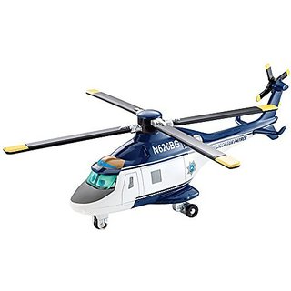 "Disney Planes: Fire & Rescue, Deluxe Die-Cast ""Blazin"" Blade Ranger with Working Hoist"