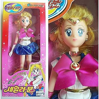 Sailor Moon Big Size Figure Doll Made in Korea Doll Old Vintage Collection Item