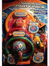 Splash Action Party Pack 9 Piece Pool Toy Combo