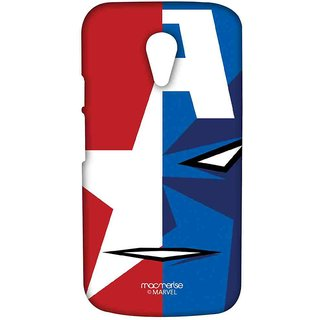 Face Focus Captain America - Sublime Case For Moto G2