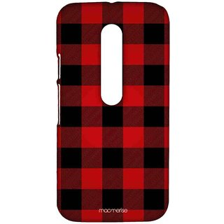 Checkmate Red - Sublime Case For Moto G3