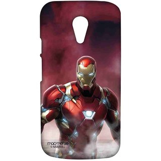 Team Red Ironman - Sublime Case For Moto G2