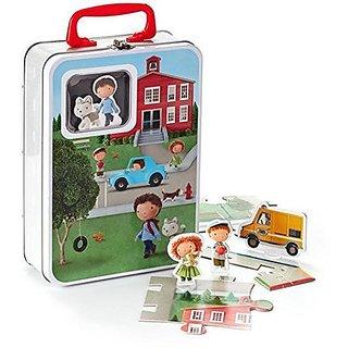 Hallmark Connect & Play Jingles Neighborhood Puzzle Kid3351